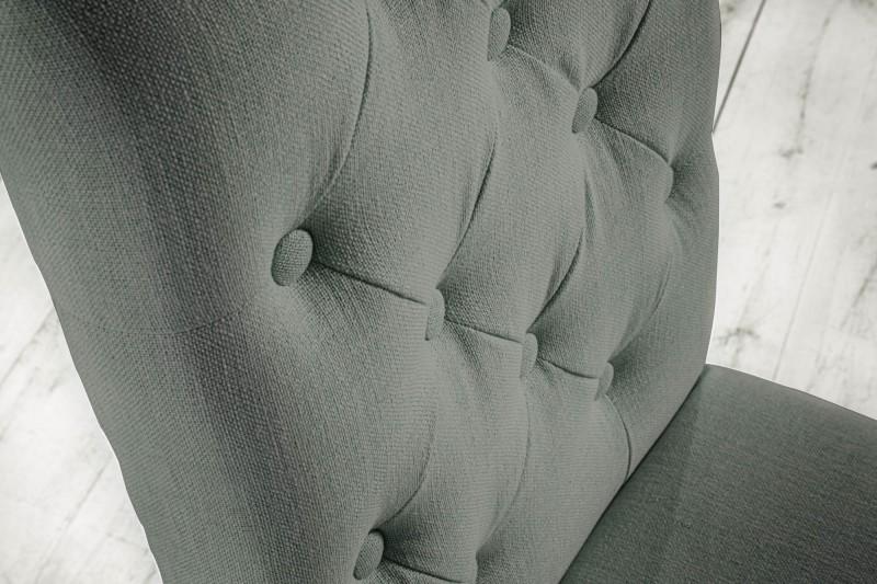 Jídelní židle Royal - světle šedá / 40071