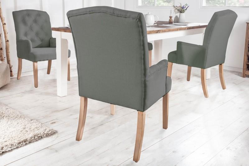 Jídelní židle Royal de Luxe - šedá / 40075