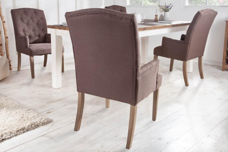Jídelní židle Royal de Luxe - hnědá / 40076