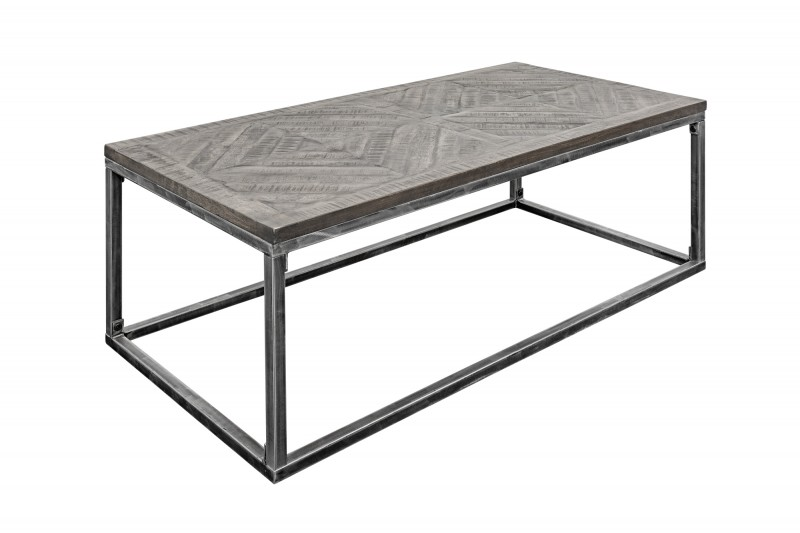 Konferenční stolek Infinity Home 100cm mango šedá / 40058
