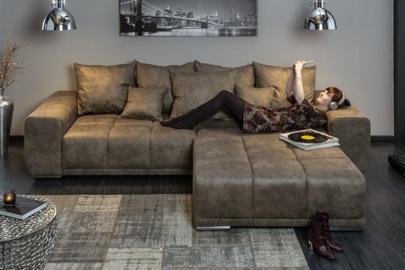 Taburet Cassiopea 110cm x 90cm - světle-šedý / 40034
