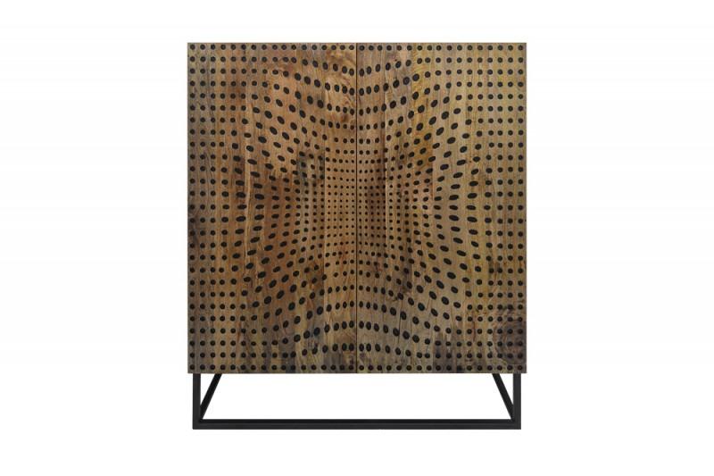 Skříň Illusion 100cm x 120cm - mango / 40052