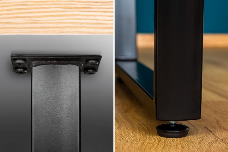 Jídelní stůl Ruby 160cm x 90cm - dub / 38955