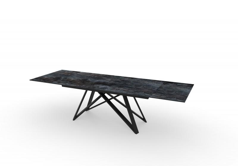 Jídelní stůl Ceramic I 180-220-260cm x 90cm  - láva / 40118