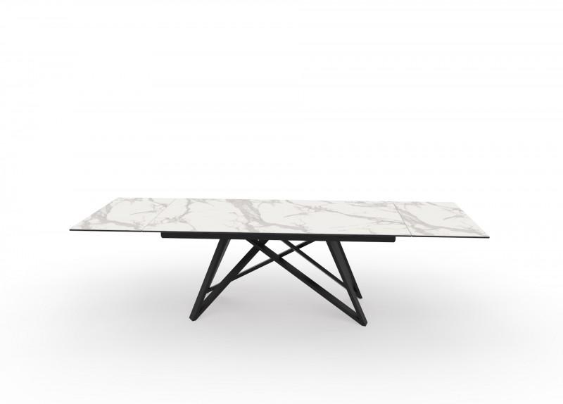 Jídelní stůl Ceramic I 180-220-260cm x 90cm  - mramor / 40119