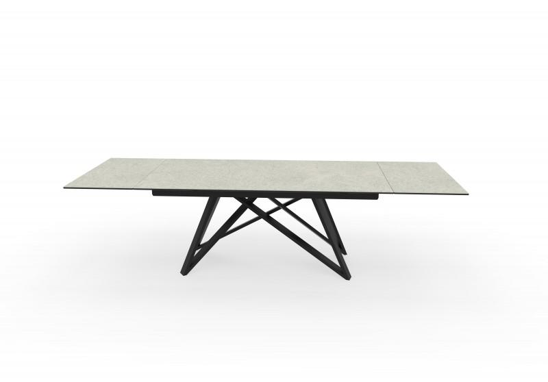 Jídelní stůl Ceramic I 180-220-260cm - keramika, beton  / 40120