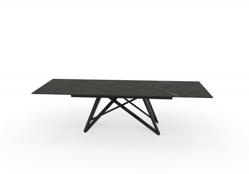 Jídelní stůl Ceramic I 180-220-260cm x 90cm - grafit / 40121