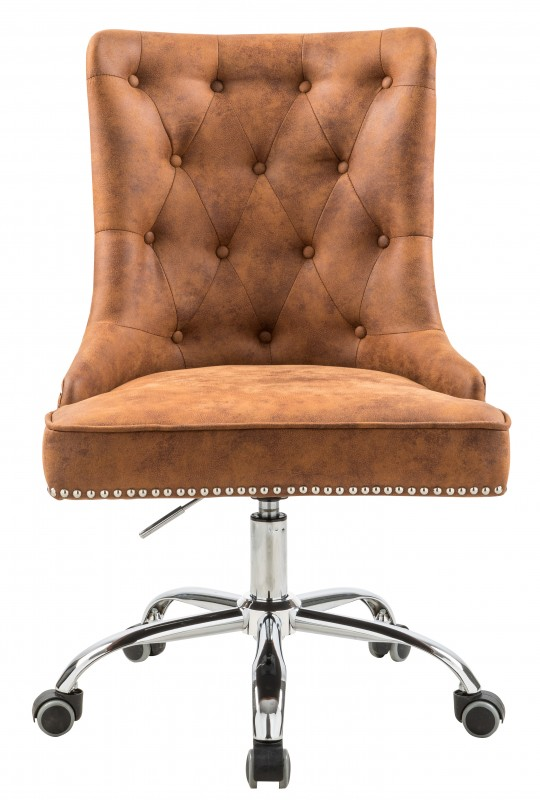 Kancelářská židle Victoria - světle hnědá / 40166