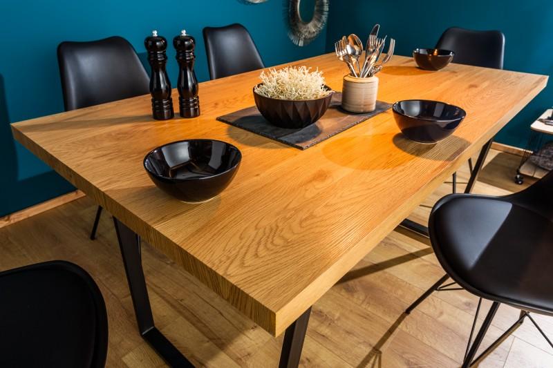 Jídelní stůl Ruby 140cm x 90cm - dub / 40250
