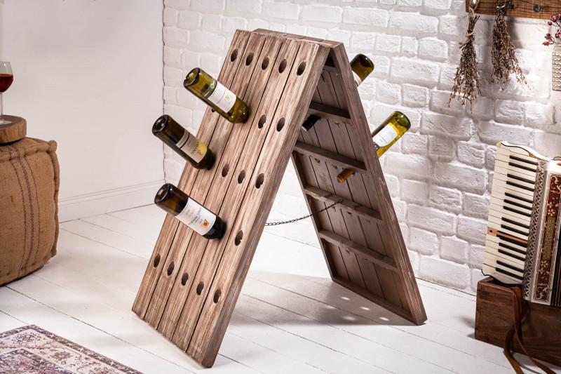 """Stojan na víno Mabel """"XL"""" 50cm x 91cm  - přírodní jedle / 40417"""