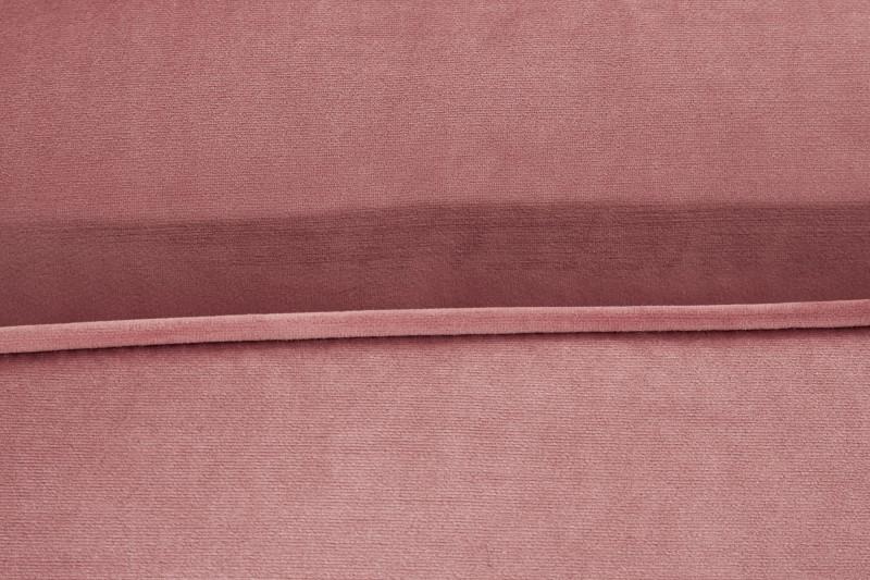 Pohovka Sheilla Corner  260cm - růžová, samet / 40276