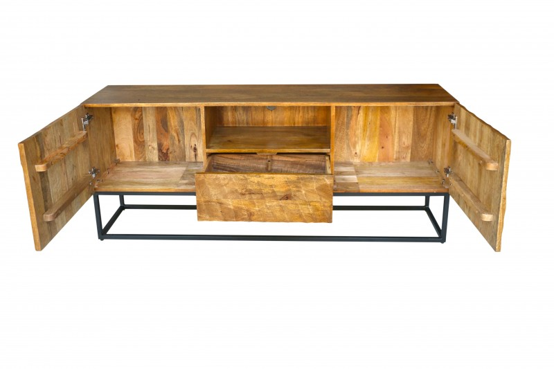 Televizní stolek Lima 160cm x 65cm - mango / 40252