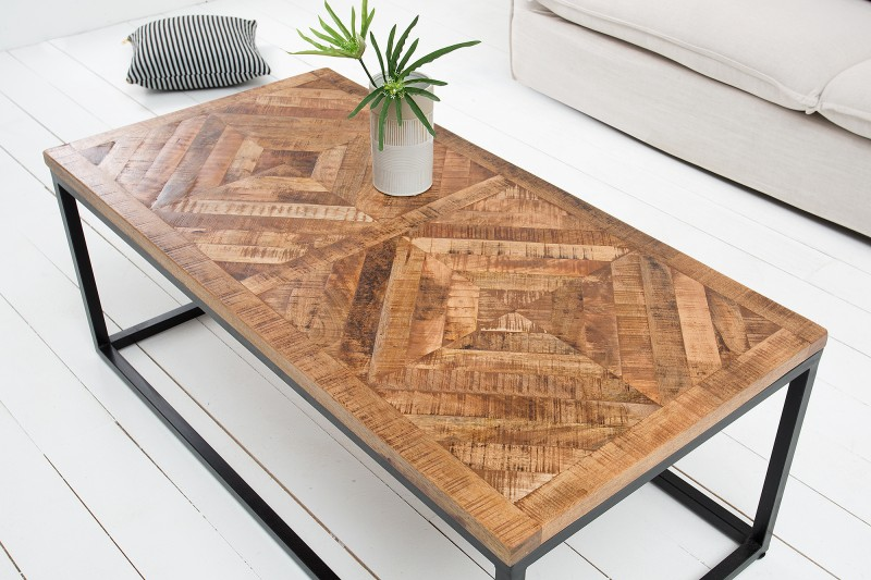 Konferenční stolek Infinity Home 100cm Mango / 40059