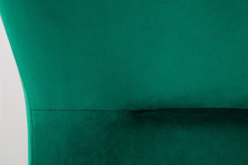 Křeslo houpací Scandinavia Swing zelená / 40162