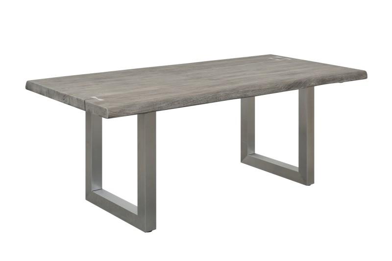 Jídelní stůl Accra Artwork 200cm x 100cm - šedý akát / 40141