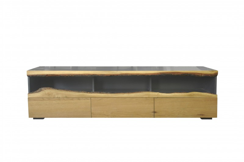 Televizní stolek Mateos 180cm - šedý dub / 40060