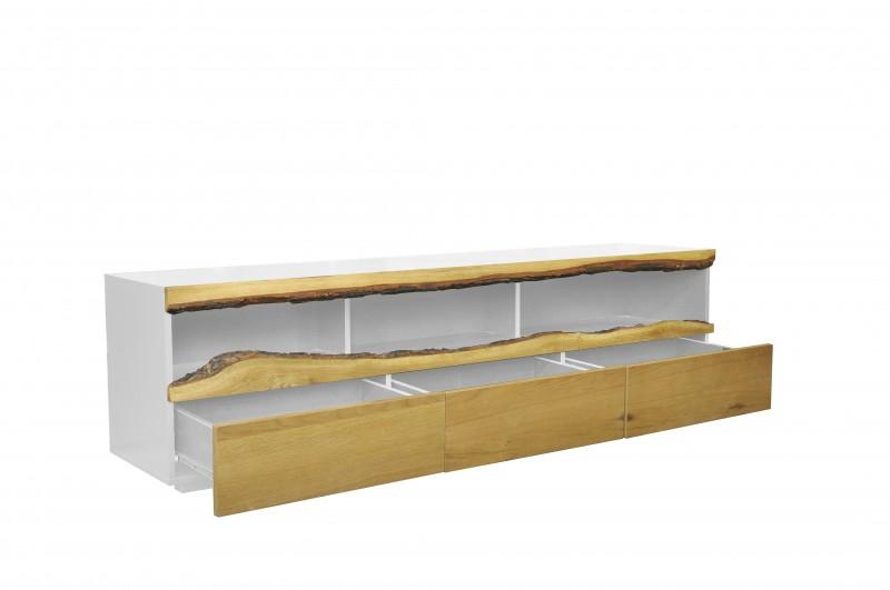 Televizní stolek Mateos 180 cm - bílý dub / 40061