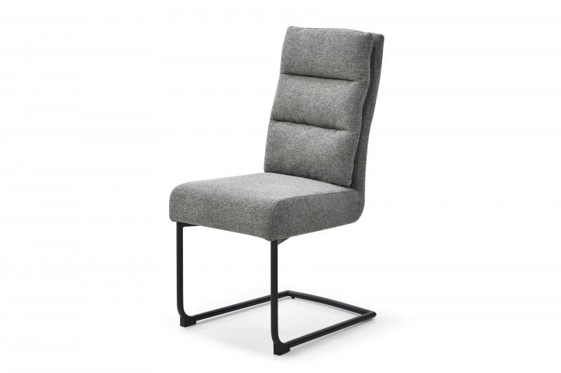 Konferenční židle Comfort texturovaná látka šedá / 40461