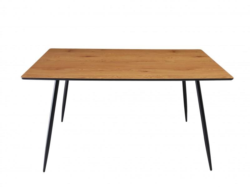 Jídelní stůl Erna 140cm x 80cm - dub / 40476