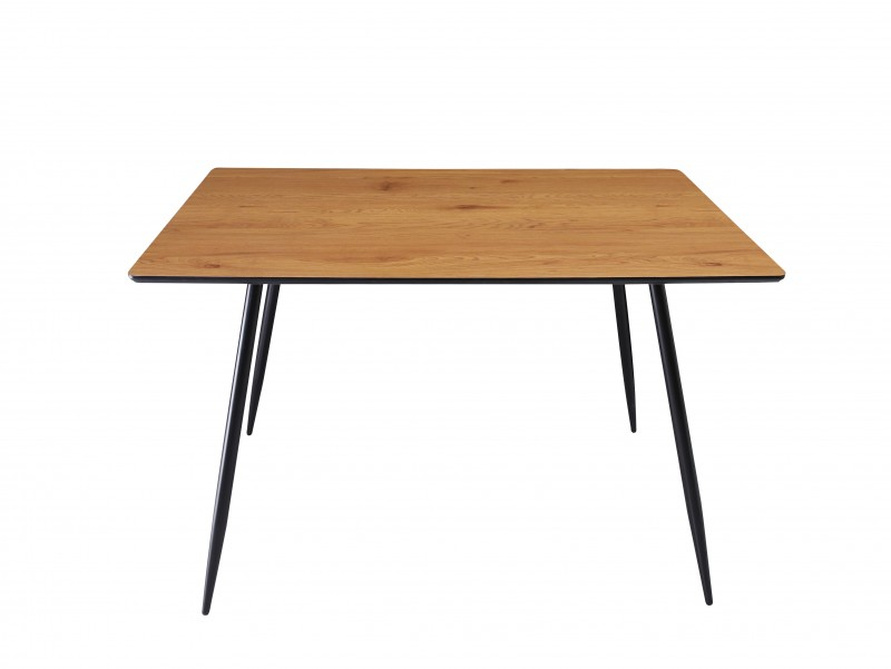 Jídelní stůl Erna 120cm x 80cm - dub / 40477