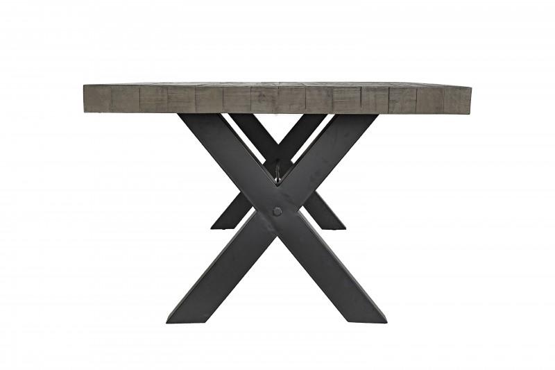 Jídelní stůl Norman 240cm x 76cm - borovice, šedá / 40443