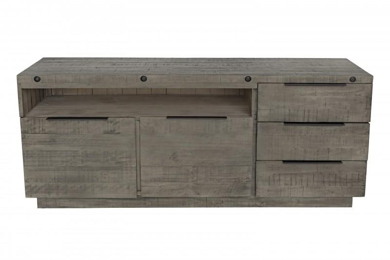 Příborník Bekasi 175cm x 75cm - borovice, šedá / 40448