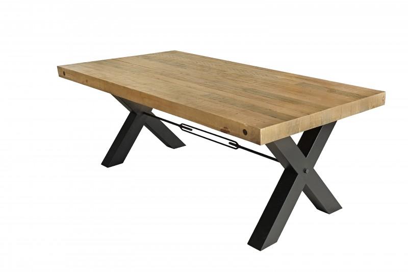 Jídelní stůl Norman 200cm x 76cm - borovice, přírodní / 40451