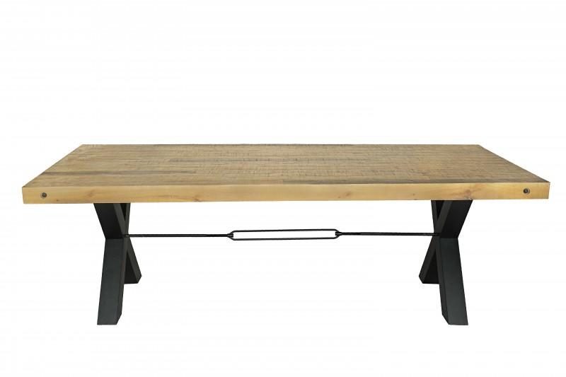 Jídelní stůl Norman 240cm x 76cm - borovice, přírodní / 40452