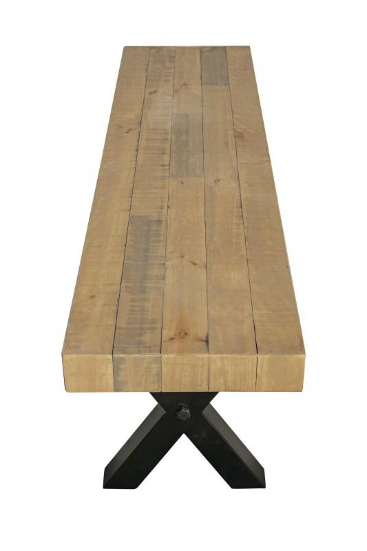Sitzbank Thor 170cm Pinienholz natur/ 40453