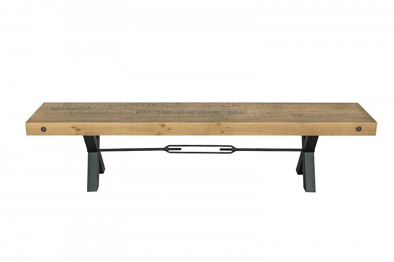 Lavice Norman 200cm x 40cm - borovice, přírodní / 40454