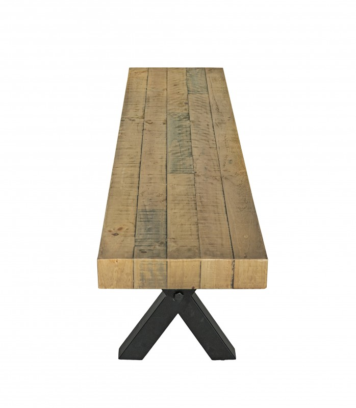 Sitzbank Thor 200cm Pinienholz natur/ 40454