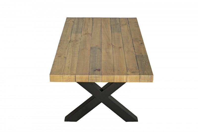 Konferenční stolek Norman 120cm x 64cm - borovice, přírodní / 40455