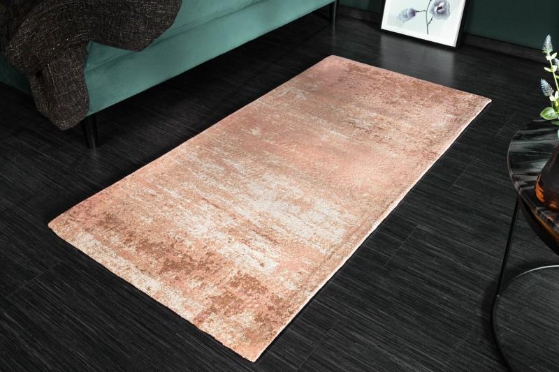 Koberec Moderní umění 70x140cm růžová béžová / 39984