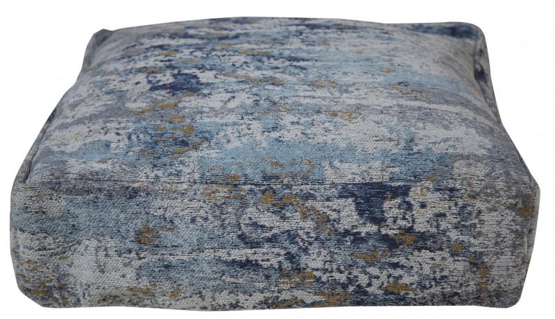 Podlahový polštář abstraktní 70cm modrá béžová / 40242