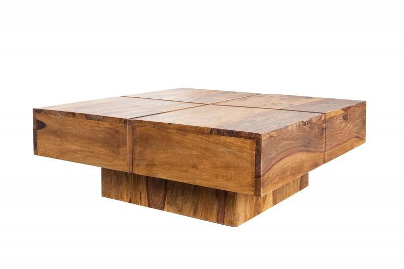 Konferenční stolek Random 80cm x 80cm - Sheesham / 40587