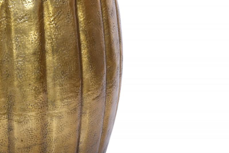 Konferenční stolek Agadir 42cm - hliník, zlatý / 40223