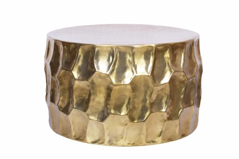 Couchtisch Organic Orient Aluminium 70cm gold/ 40225