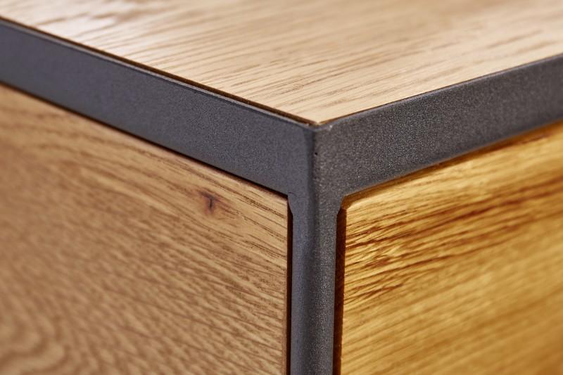 Noční stolek Madison 40cm x 50cm - divoký dub / 39709