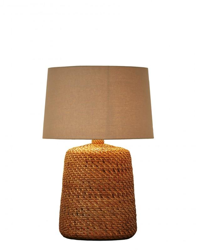 Stolní lampa Corinn 96cm ratan přírodní béžová / 40507