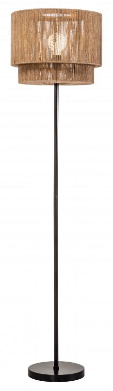 Stojací lampa Pure Nature 150cm - ratanový papír / 40332