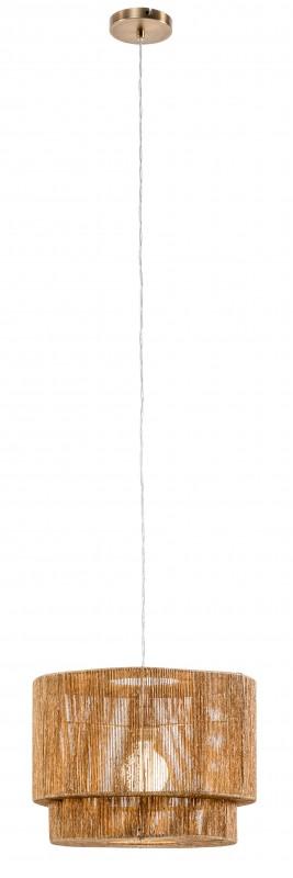Závěsná lampa Pure Nature 39cm papír ratanový / 40331