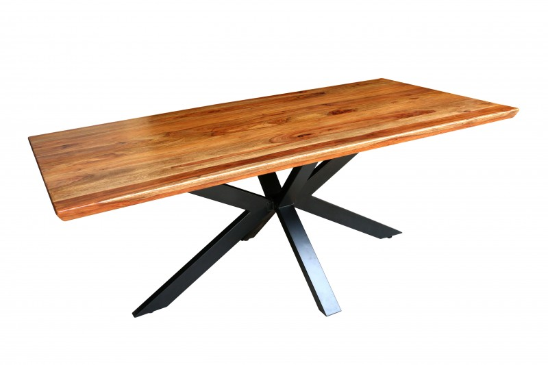 Jídelní stůl Galaxie 200cm x 100cm - Sheesham / 40245