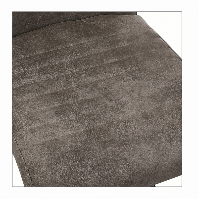 Jídelní židle Hannah - starožitná šedá / 40552