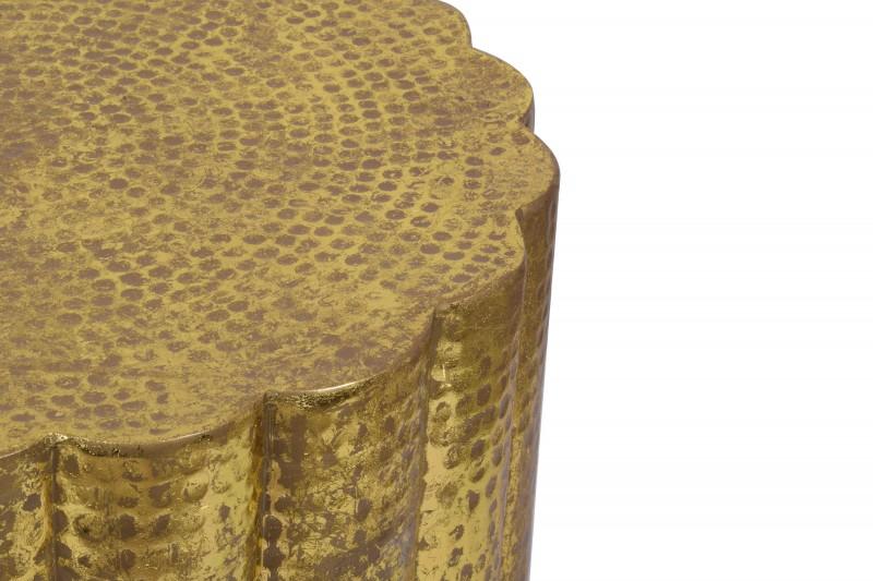 Konferenční stolek Wadi 60cm x 60cm - zlatý  / 40228
