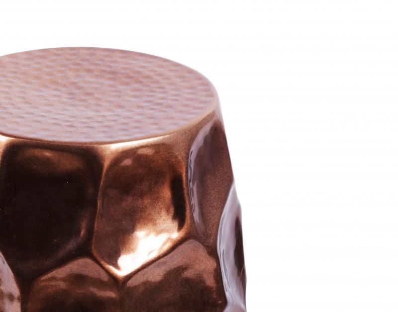 Boční stolek Organic Orient 30cm hliníková měď / 40229