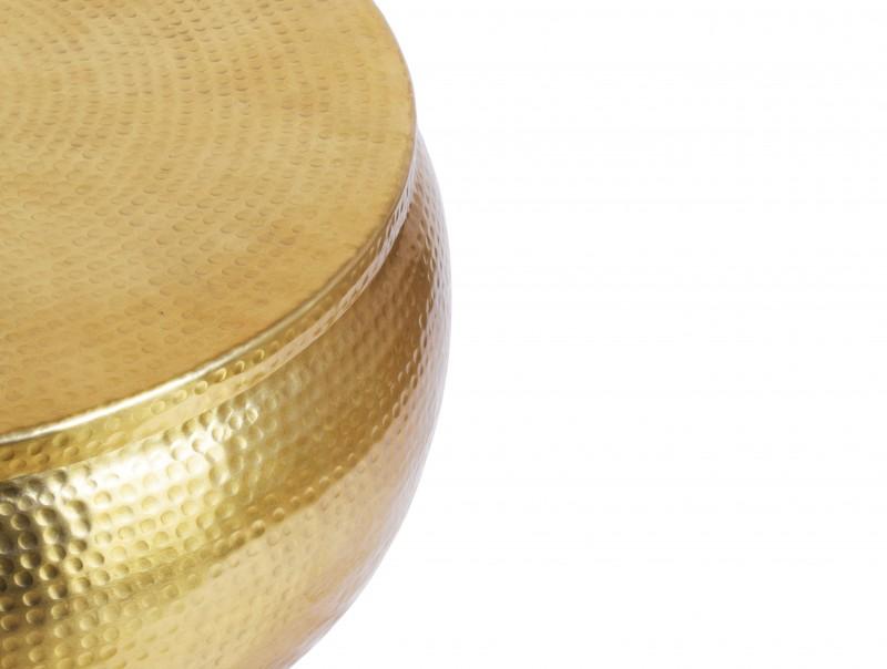 Konferenční stolek Sidon Storage 70cm - zlatý / 40231