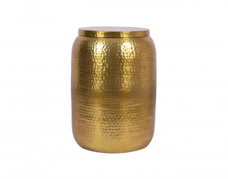 Boční stolek Orient Storage 35cm Aliminium gold / 40233