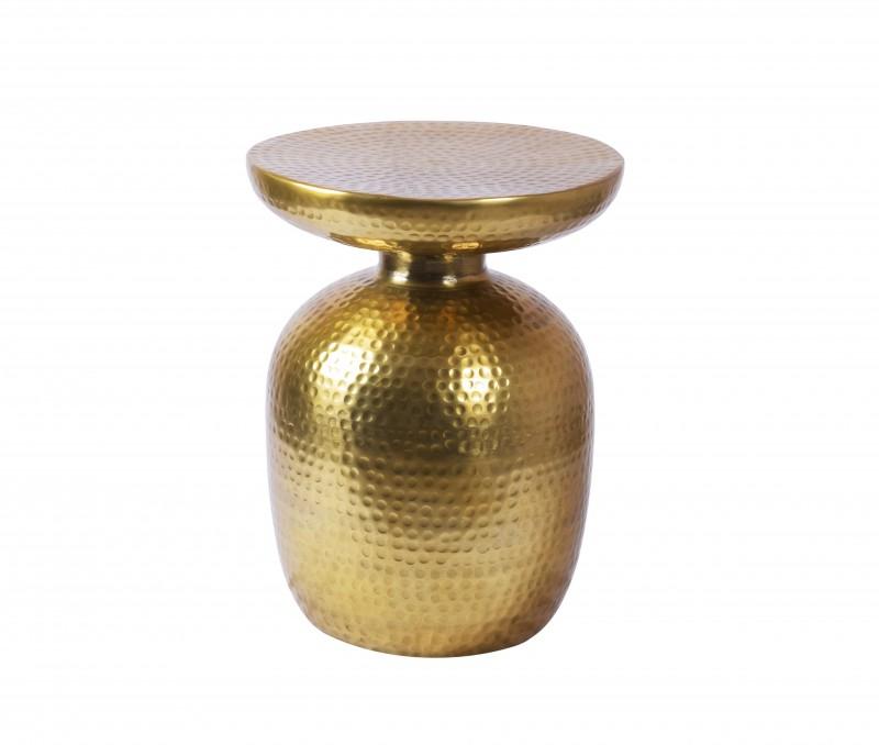 Konferenční stolek Sidi 36cm - hliník, zlatý / 40236