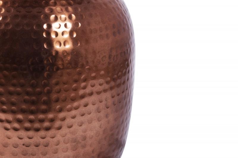 Boční stolek Orient 36cm hliníková měď / 40237
