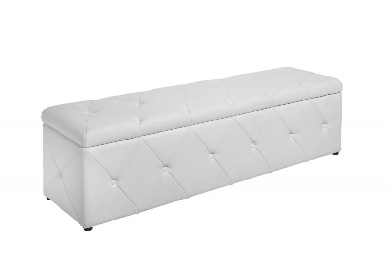 Luxusní lavice Paradise 140cm x 40cm - bílá / 40136